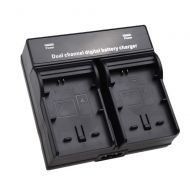 Dual Channel Battery Charger for SONY NP-FW50 BC-VW1 Battery Sony NEX-3 NEX-5 NEX-6 NEX-7 NEX-C3 NEX-F3 Alpha DSLR SLT Camera