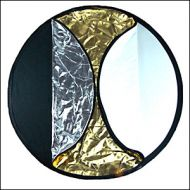 (110cm) 5-in-1 Collapsible Light Disc Reflector